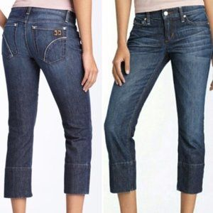 Joe's Jeans Socialite Kicker Crop Pant Size 26